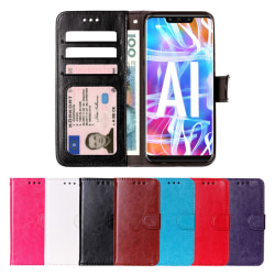 GadgetMe Plånboksfodral Huawei Y5 2017 och Y6 2017 svart