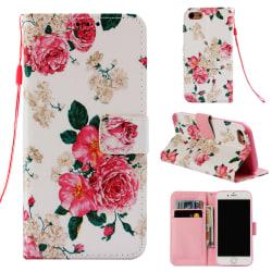 GadgetMe Plånboksfodral Samsung Galaxy S8 - Olika Motiv Rosa rosor