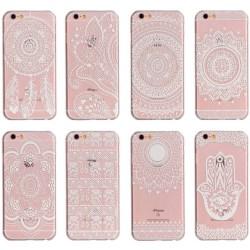 GadgetMe skal för iPhone 6/6S Plus - Henna Motiv 8