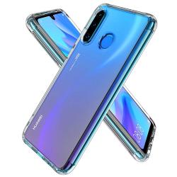 Huawei P30 Lite - Slimmat genomskinligt skal Shockproof