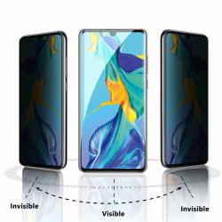 Huawei P30 Privacy Skärmskydd - Härdat Glas