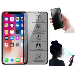 Privacy Skärmskydd - iPhone 11 Pro/X/Xs - Härdat Glas