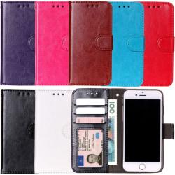iPhone 7/8 Plus - Plånboksfodral svart