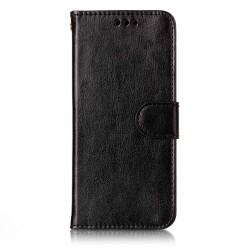 iPhone X/Xs - Plånboksfodral svart