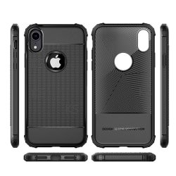 iPhone Xr Military-Grade Shockproof Skal/skydd svart