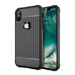 iPhone Xs Max Military-Grade Shockproof Skal/skydd svart