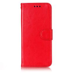iPhone XS Max - Plånboksfodral röd