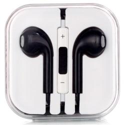 Klassiska hörlurar in-ear svart
