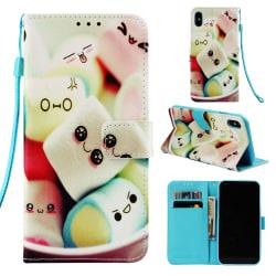 Marshmallow iPhone X/Xs Plånboksfodral marsmallow