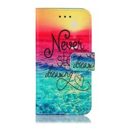 GadgetMe Plånboksfodral iPhone 6/6s/7/8 Never stop dreaming