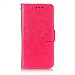 Plånboksfodral Samsung Galaxy A3 (2017) mörk rosa