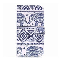 Plånboksfodral skal för Sony Xperia Z3 - Elefanter