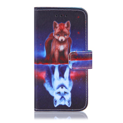 GadgetMe Plånboksfodral iPhone 6/6s/7/8 Räv