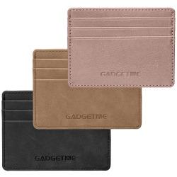 Korthållare med RFID-skydd och 6st kortfack svart