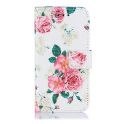 GadgetMe Plånboksfodral iPhone 6/6s/7/8 Rosa rosor