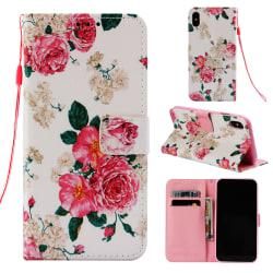 Rosor iPhone X/Xs Plånboksfodral rosor