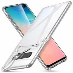 Samsung Galaxy S10 Plus - Slimmat genomskinligt skal/skydd transparent