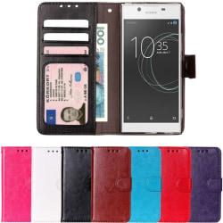 Sony xperia L1 - Plånboksfodral svart