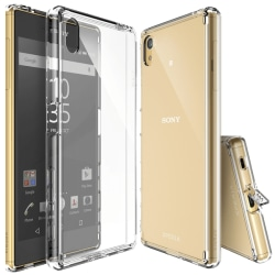 Sony Xperia Z5 - Transparent Hybrid Flex Skal