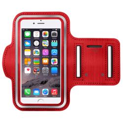 Sportarmband för iPhone 6/6S/7/8 röd