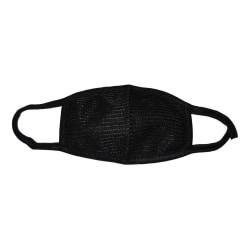 Ansiktsmask - Svart - Dubbelpack Svart one size