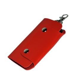 Nyckelhållare i konstläder - Röd [v2] Red Röd