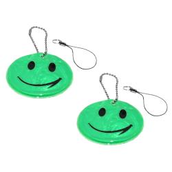 Reflex - Dubbelpack - Smiley - Grön Grön