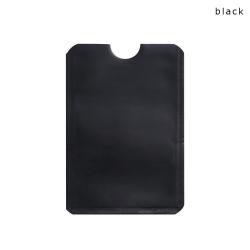 RFID-skydd - Dubbelpack - Korthållare - Kortfodral - Svart Black Svart