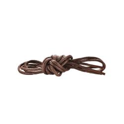 Skosnören - Brun - Rund vaxad [80 cm] 02. Brun