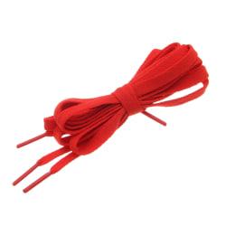 Skosnören - Röd - Platta [120 cm] Red one size