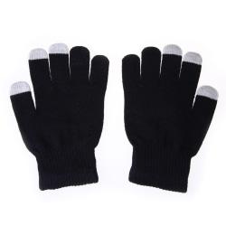 Smartphonehandskar - Svart - Touch Glove - Vantar Svart one size