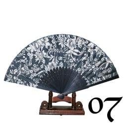 Solfjäder - Oriental Winds [Blå] - Blå/vit [7] Blue 07
