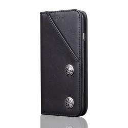 Exklusivt plånboksfodral till Iphone X / XS Black