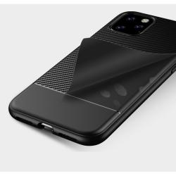 iPhone 11 Pro | Mattsvart Kolfiberskal Svart