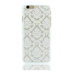 iPhone 6/6s   Vintage Flower Henna Drömfångare Mobilskal Vit