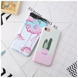iPhone 7   Designskal med Kaktus eller flamingo på!  Green Kaktus