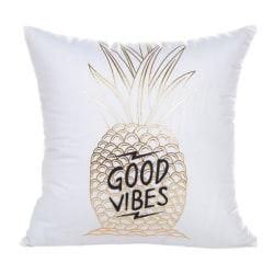 Kuddfodral - Good Vibes Vit