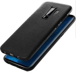 Leather Case - Samsung Galaxy S9 + Svart