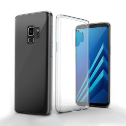 Mjukt Genomskinligt skal till Samsung Galaxy S9 Transparent