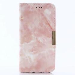 Samsung Galaxy S8+ | Plånboksfodral med Rosa Marmor Rosa