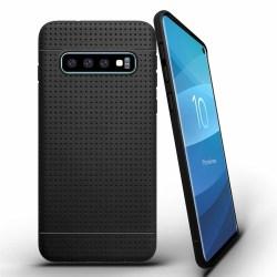 Samsung Galaxy S10 | Svart, mjukt skal! Svart