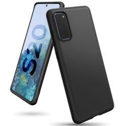 Samsung Galaxy S20 | Supertunt Mattsvart skal Svart