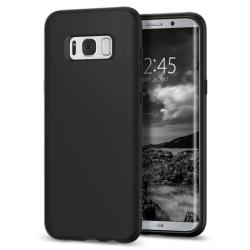 Samsung Galaxy S8 | Mjukt, Mattsvart Skal  Svart