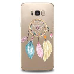 Samsung Galaxy S8 | Mjukt, Transparent Skal med Drömfångare Transparent