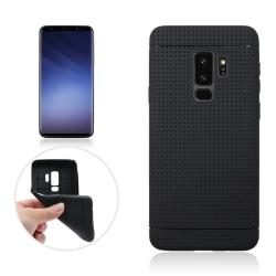 Samsung Galaxy S9 | Mjukt Skyddande skal, Grip Pro Svart