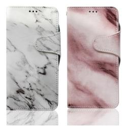 Samsung Galaxy S9 | Plånboksfodral med Marmortryck, Flera Färger Purple