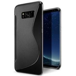 Svart skyddande Skal till Samsung Galaxy S8 + Svart