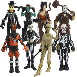 Fortnite figurer  -   8 stycken / set multifärg