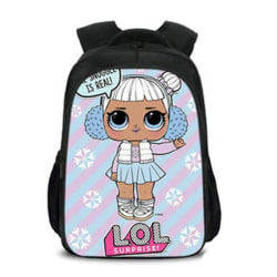 LOL Surprise ryggsäck 42x29x18cm Black