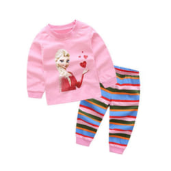 "Pyjamas Frost ""Frozen"" i 100 % bomull Pyjamas Frost  130 cl"